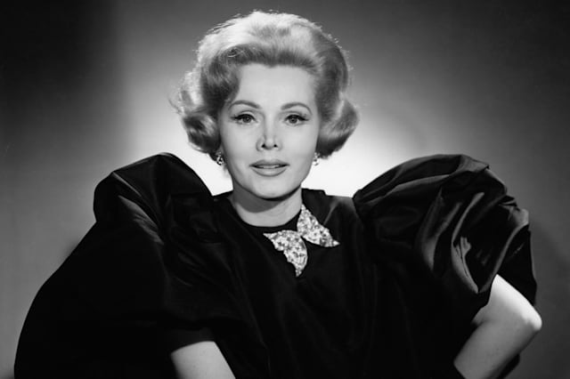 Portrait Of Zsa Zsa Gabor