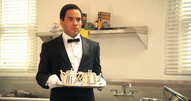 Lenny Kravitz in The Butler