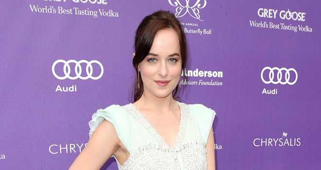 fifty shades of grey casting dakota johnson