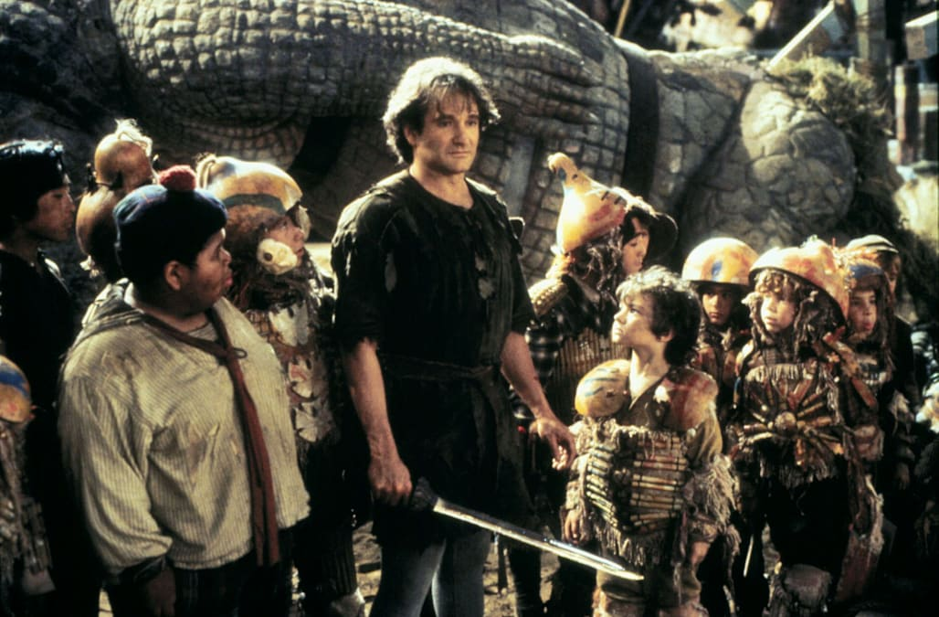 ROBIN WILLIAMS & LOST BOYS HOOK (1991)