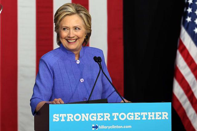 Hillary Clinton in Wilton Manors, Fla.