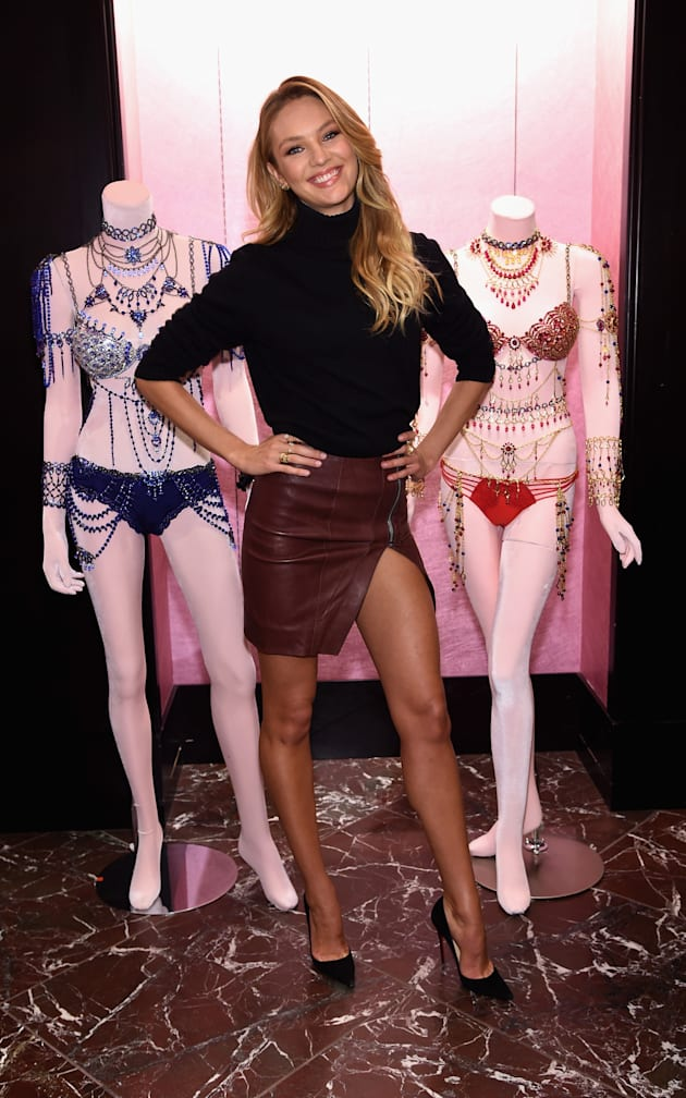 Candice Swanepoel Shares Victoria's Secret Holiday Gift Picks