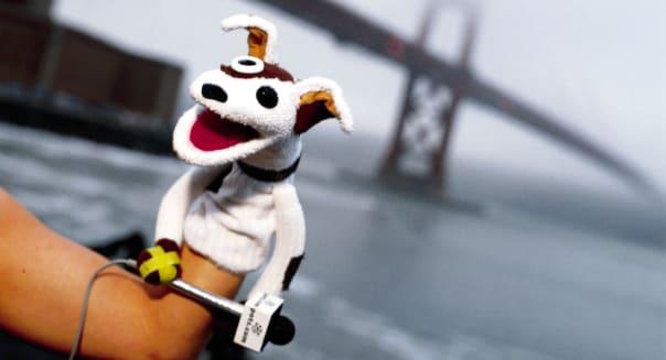 Pets.com sock puppet spokesdog.  (Photo