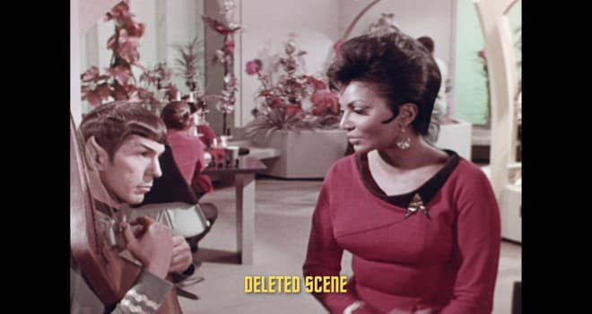 Deleted scene from STAR TREK