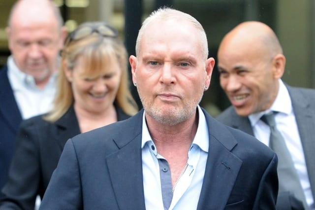 Paul Gascoigne in court
