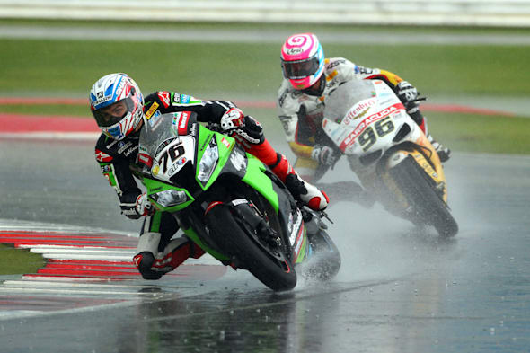 2012 Superbike World Championship, Round 10, Silverstone, United Kingdom, 05 August 2012, Loris Baz (FRA) Kawasaki Racing Team