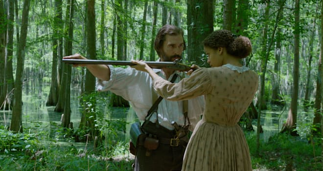 Matthew McConaughey and Gugu Mbatha-Raw star in FREE STATE OF JONES