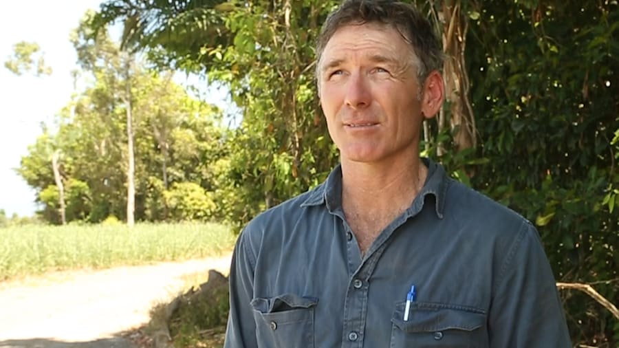 Brian Dore uses zonal tilling to plant less, but produce the same