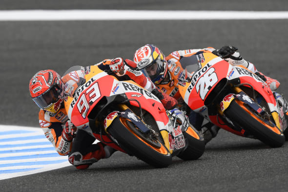 2017 MotoGP Spain Jerez honda