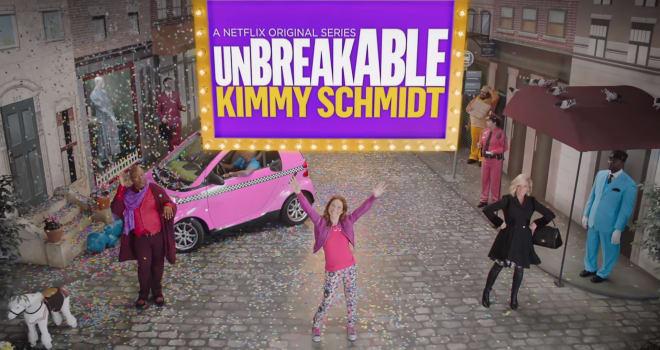 unbreakable kimmy schmidt, kimmy schmidt, teaser, season 2, netflix