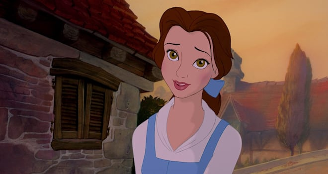 """Belle in Disney's """"Beauty and the Beast"""""""