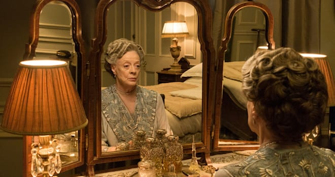 downton abbey, maggie smith, dowager countess