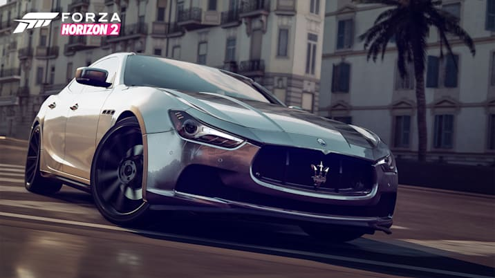 Forza Horizon 2 Presents Fast and Furious 2014 Maserati Ghibli Q4 S