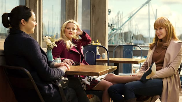 """Nicole Kidman, Reese Witherspoon and Shailene Woodley star in """"Big Little"""