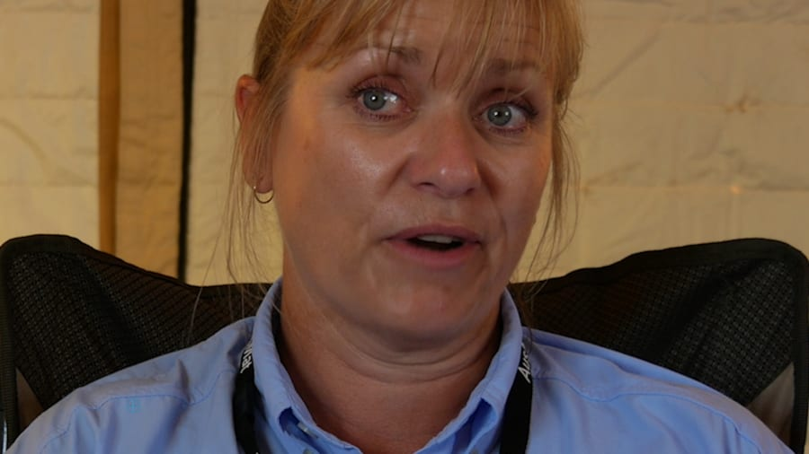 Angela Jackson was at work when she realised her family was involved in the 2002 Bali