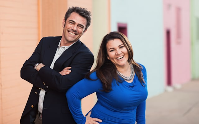 Denise Soler Cox and Henry Ansbacher, the co-creators of Project Enye (ñ ), a multimedia documentary project focused on telling the stories of first-generation American-born Latinos who have at least one parent from a Spanish-speaking country.