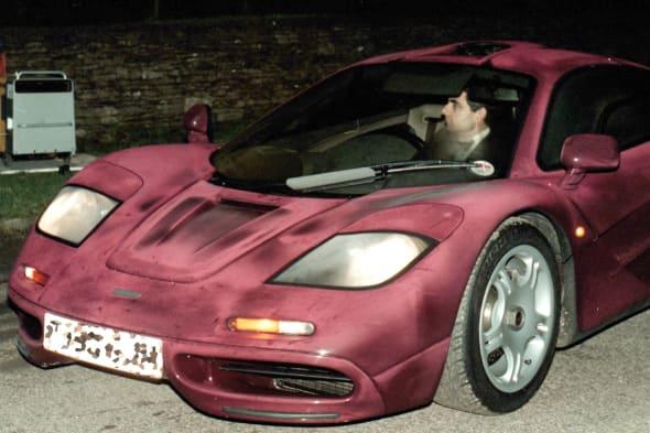 Atkinson to sell McLaren supercar