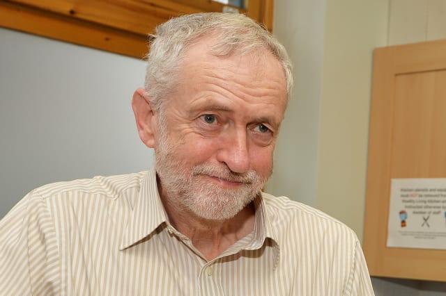 Jeremy Corbyn at Centrepoint