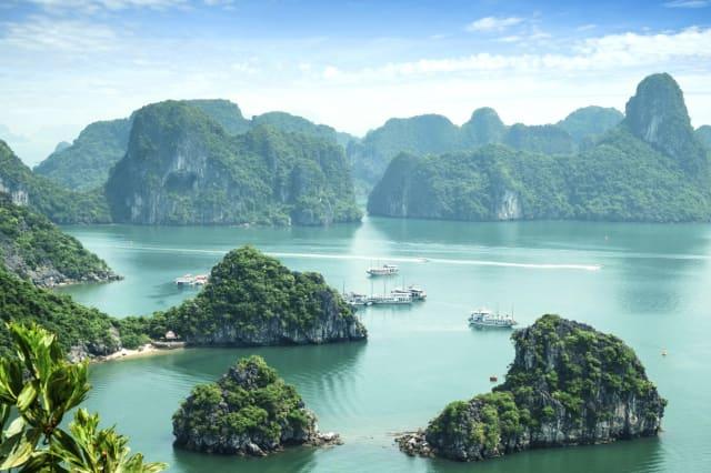 Top ten travel destinations for 2016 Halong Bay, Vietnam.