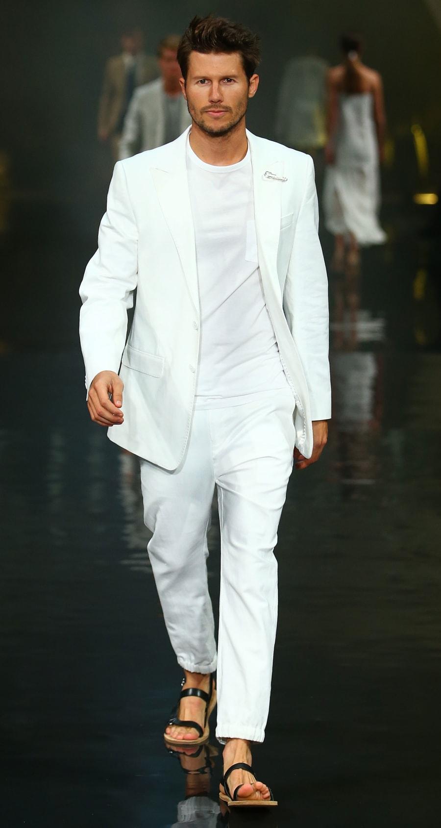 Jason Dundas showcases designs by