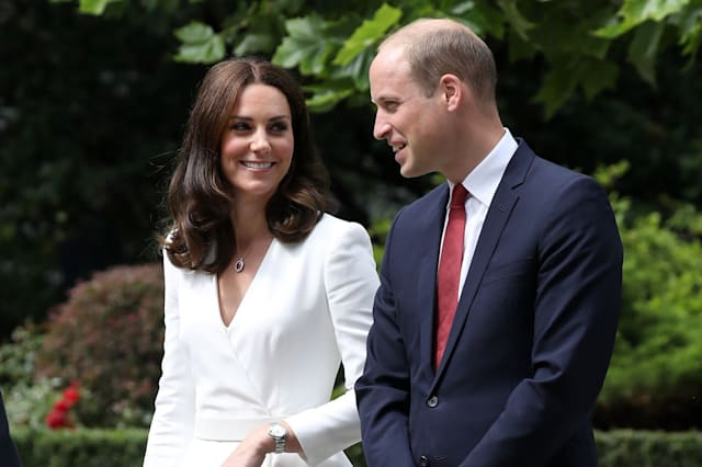 Royal visit to Poland - Day 1