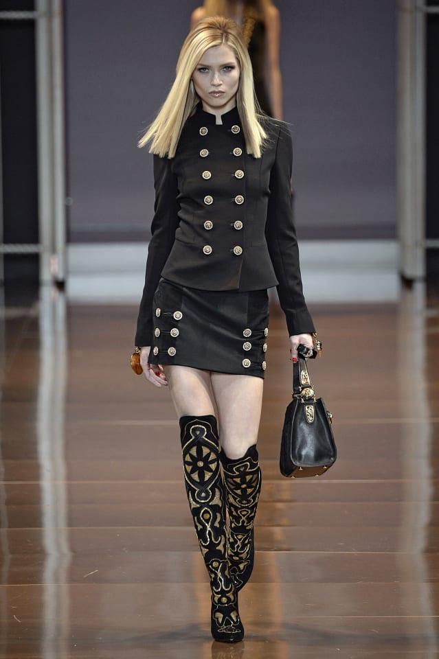 Versace - Runway RTW - Fall 2014 - Milan Fashion Week