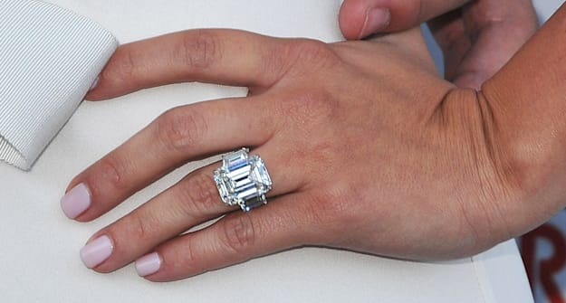 Kim Kardashians engagement ring sold for how much AOL Lifestyle