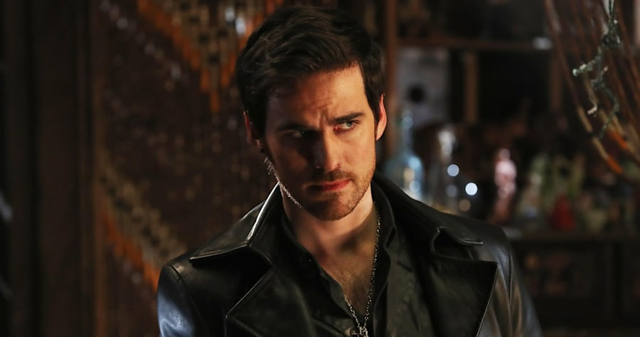 """ONCE UPON A TIME - """"A Wondrous Place"""" - When Hook finds himself trapped in another realm along with the Nautilus and her crew, he races to return to Emma before Gideon can execute the rest of his plan. In Storybrooke, Regina and Snow take Emma out to get her mind off Hook's disappearance. And in a flashback to Agrabah, Jasmine befriends Ariel, and together they set out to locate Prince Eric as the threat from Jafar intensifies, on """"Once Upon a Time,"""" SUNDAY, APRIL 2 (8:00-9:00 p.m. EDT), on The ABC Television Network. (ABC/Jack Rowand)COLIN O'DONOGHUE"""
