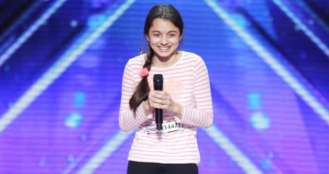 "AMERICA'S GOT TALENT -- ""Auditions Pasadena Civic Auditorium"" -- Pictured: Laura Bretan -- (Photo by: Trae Patton/NBC)"