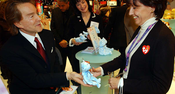 Ty Warner, Beanie Baby creator and chief executive of Ty Inc.