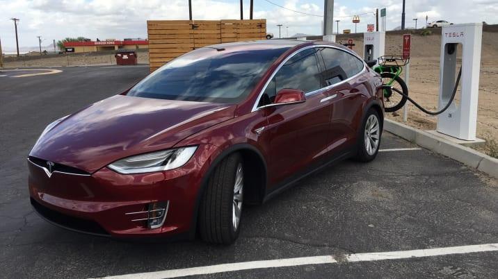 Randy Hansen Tesla Model X