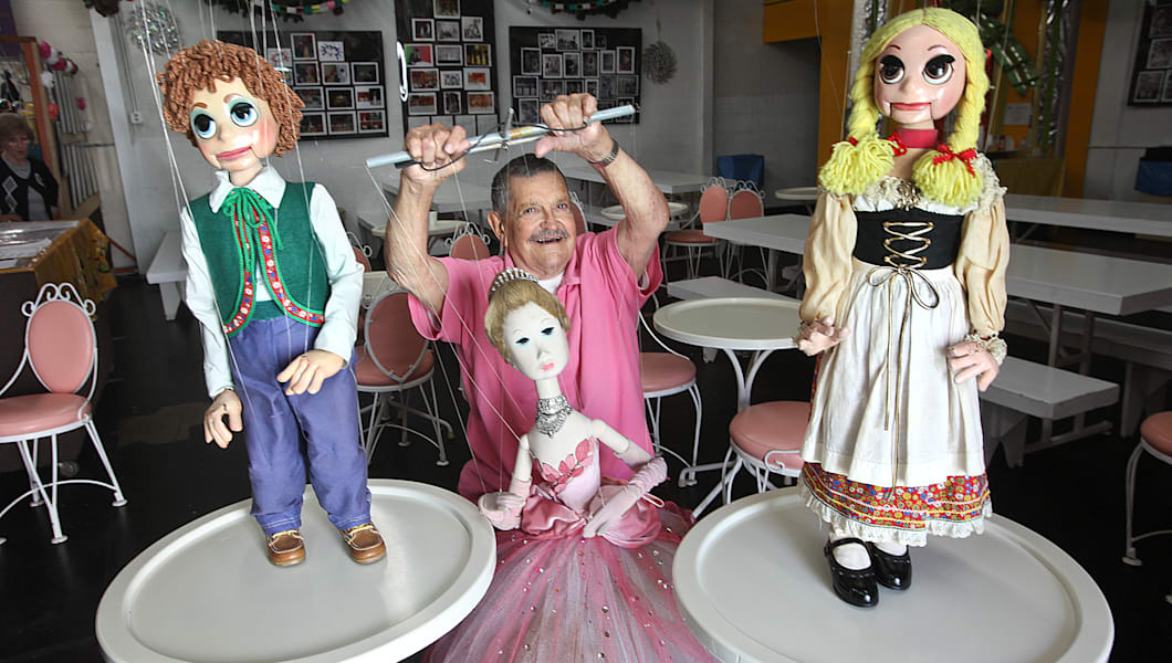 Puppeteer Bob Baker, 88, co-founder of the Bob Baker Marionette Theater in Downtown Los Angeles, is