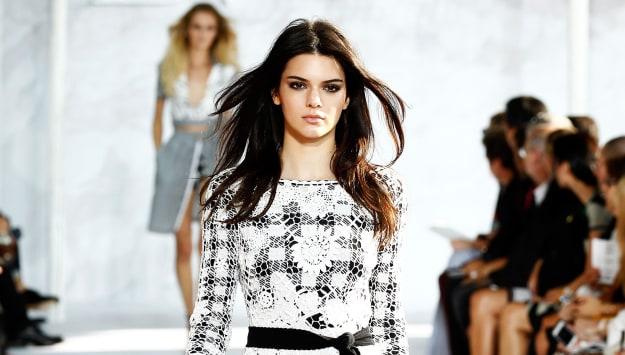 Kendall's fashion week debut
