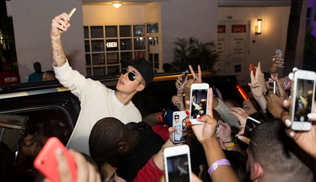 Justin Bieber Sighted At Fantasy Wednesday At Club Dream - July 2, 2014