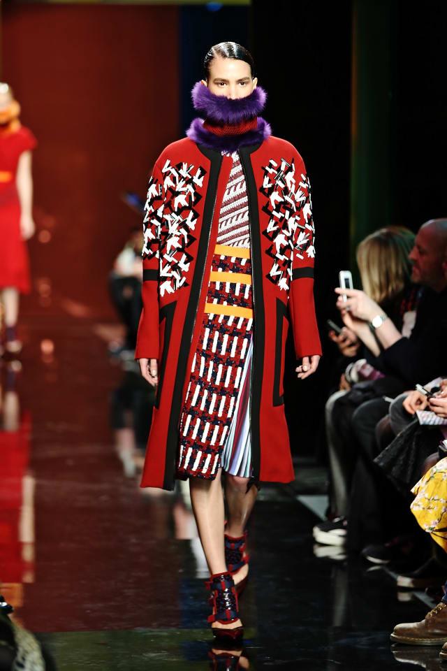 Peter Pilotto: Runway - London Fashion Week AW14