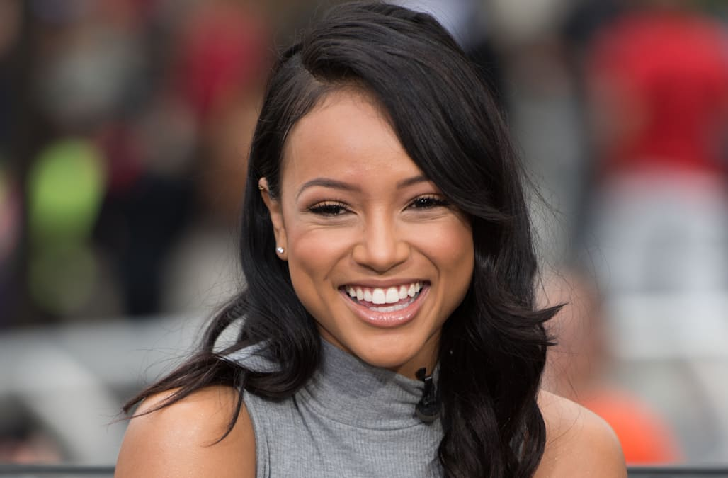 karrueche tran dishes on her emmy win burgeoning acting career and