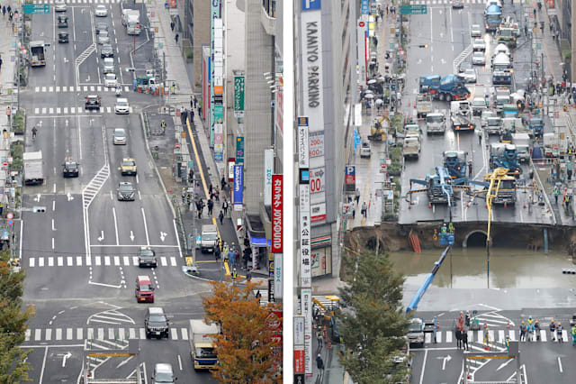 JAPAN-ACCIDENT-ROAD
