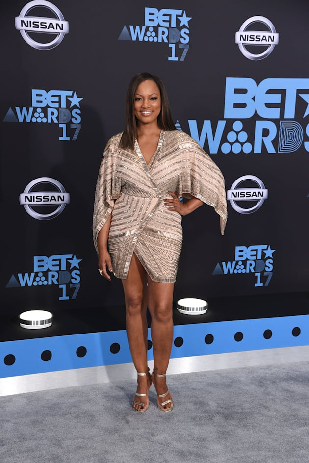 Garcelle Beauvais attends the 2017 BET Awards at Staples Center on June 25, 2017 in Los Angeles, California....