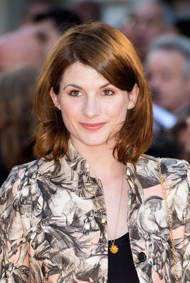 Jodie Whittaker attends the UK Premiere of 'The Two Faces Of January' at The Curzon Mayfair on May 13,...