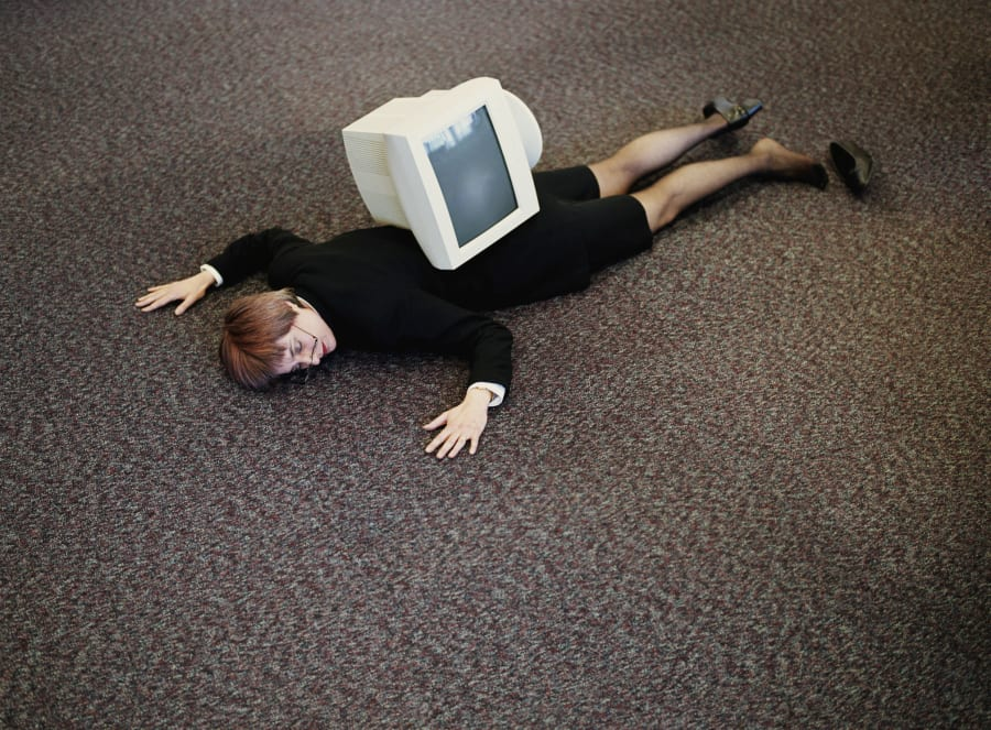 Sore back? It could be your computer's