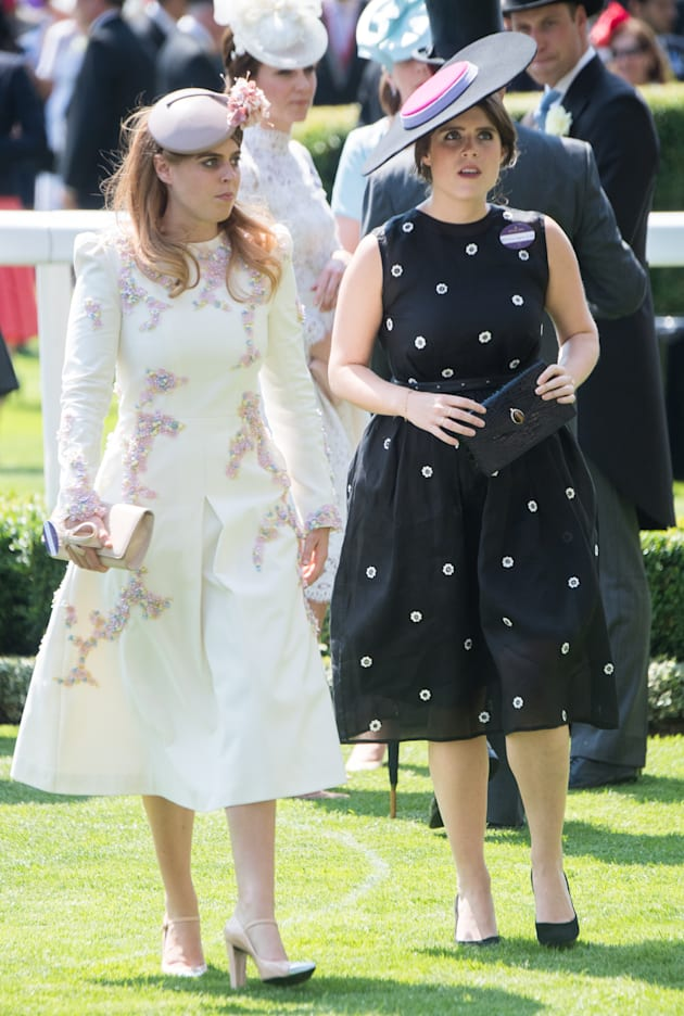 Kate Middleton Is Off To The Races In A Lacy White