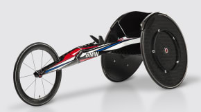 BMW Team USA Racing Wheelchair Rio 2016 Paralympic Games
