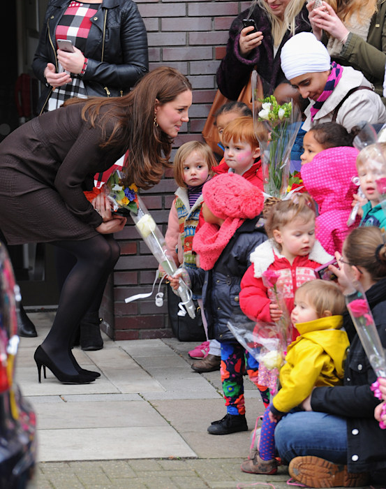 The Duchess Of Cambridge Visits The Fostering Network