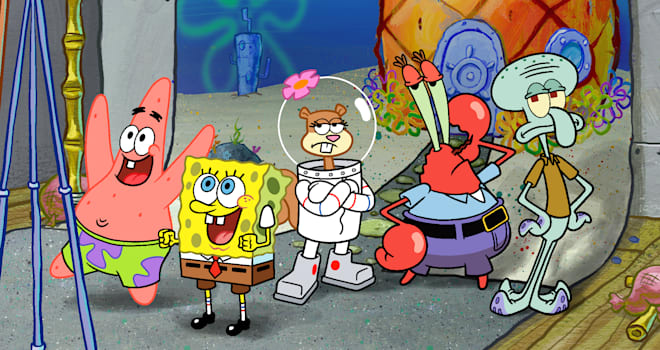 spongebob squarepants, spongebob, nickelodeon