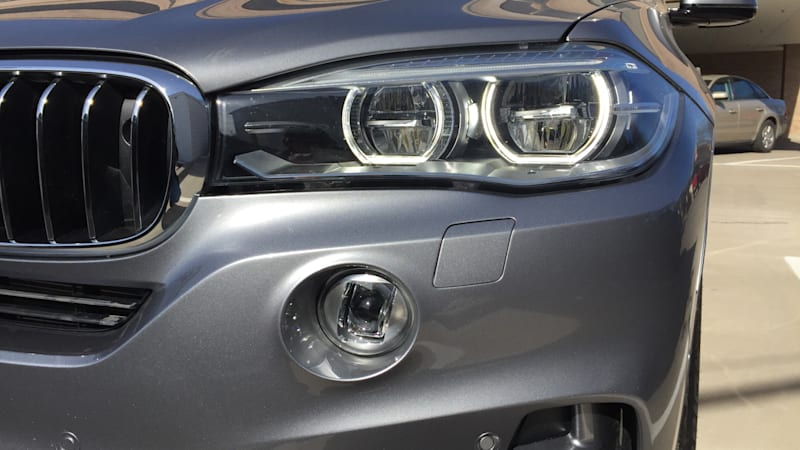 Spotlights for BMW Night Vision with Dynamic Light Spot