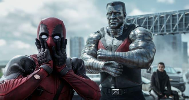 Ryan Reynolds as Deadpool in 20th Century Fox and Marvel's DEADPOOL