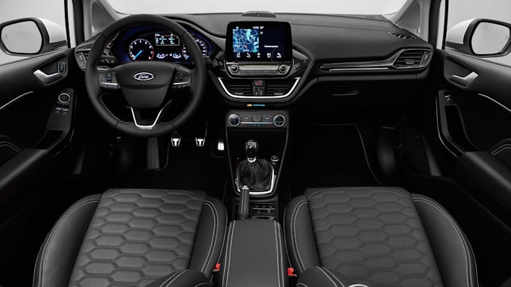 2018 Ford Fiesta Interior