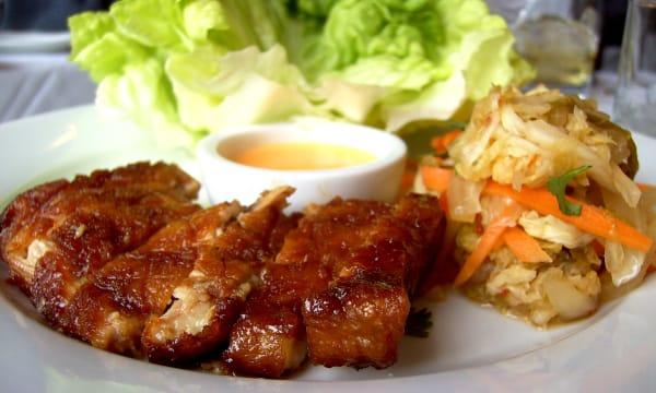 Pork Belly with Kimchee