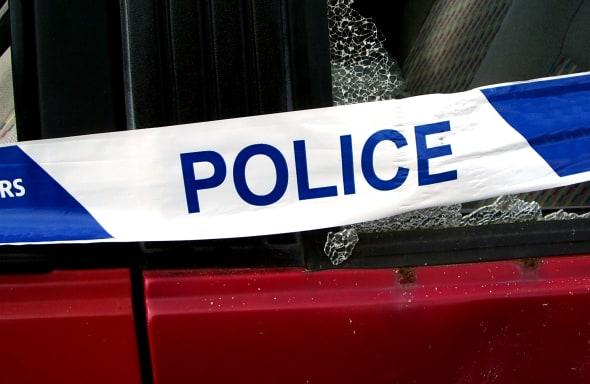 police warning tape