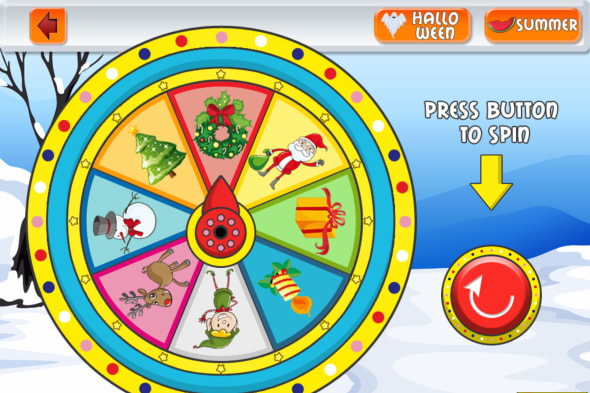 Talking Holidays Wheel screenshots